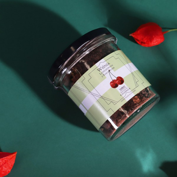 Manufaktura Cieleśnica Herbata Czarna WIŚNIA LIO i Kardamon