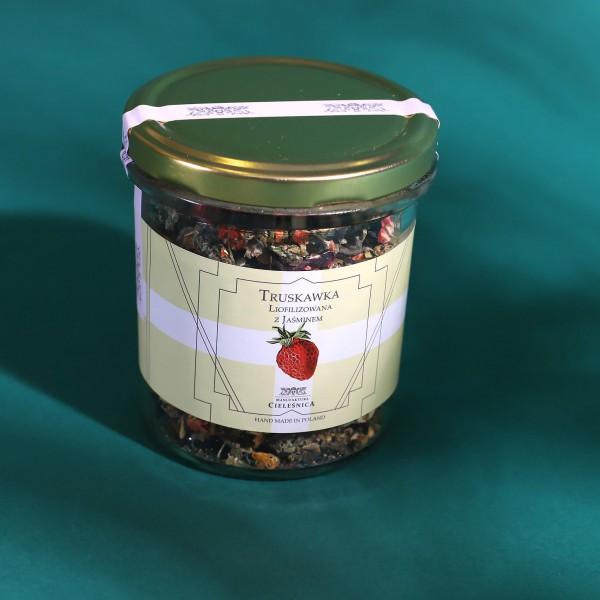 Manufaktura Cieleśnica Herbata TRUSKAWKA LIO z Hibiskusem