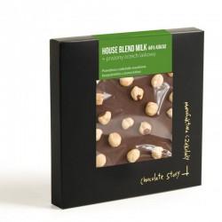 Manufaktura Czekolady Czekolada YCS House Blend Milk 44% kakao orzech laskowy