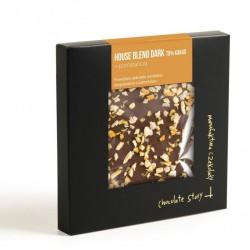 Manufaktura Czekolady Czekolada YCS House Blend Dark 70% kakao pomarańcza