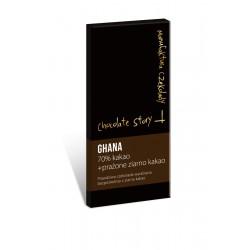 Manufaktura Czekolady Czekolada YCS  House Blend Milk 44% kakao + prażone ziarno kakao