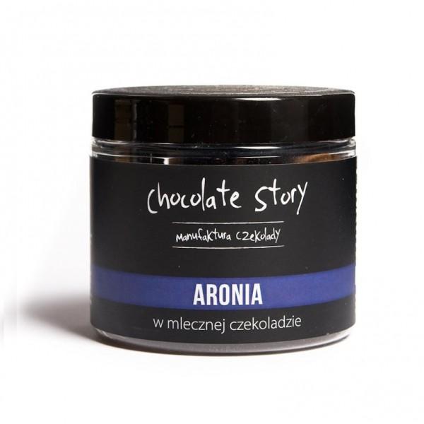 Manufaktura Czekolady Aronia w mlecznej czekoladzie 120g