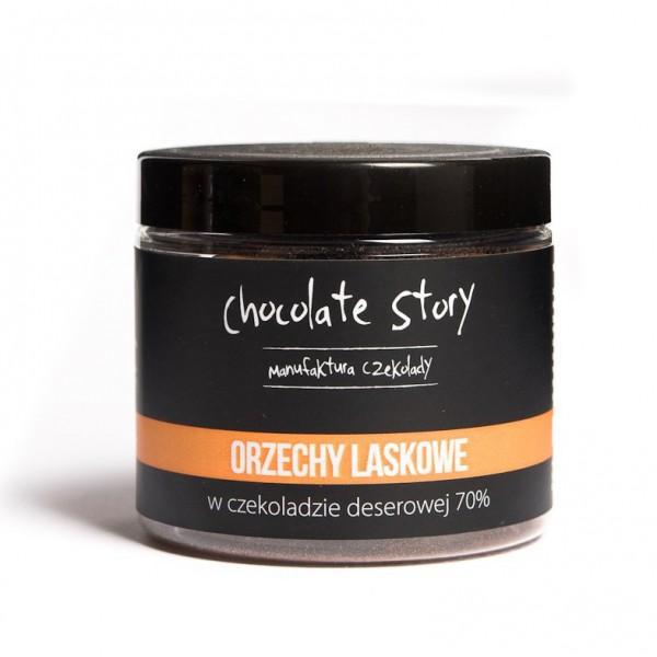 Manufaktura Czekolady Orzech laskowy w ciemnej czekoladzie 120g