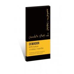 Manufaktura Czekolady Czekolada deseorwa mleko+wanilia Ekwador 60% 50g