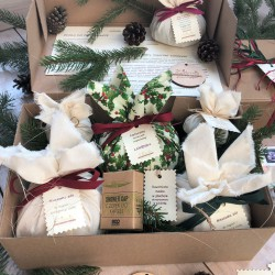 Manufaktura Zielarnia Christmas set Herbs for body and beauty care at home SPA