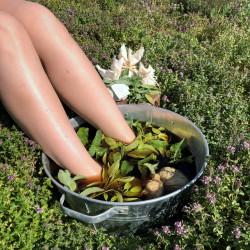 Manufaktura Zielarnia Herbs for foot baths - refreshing and antiseptic (set)