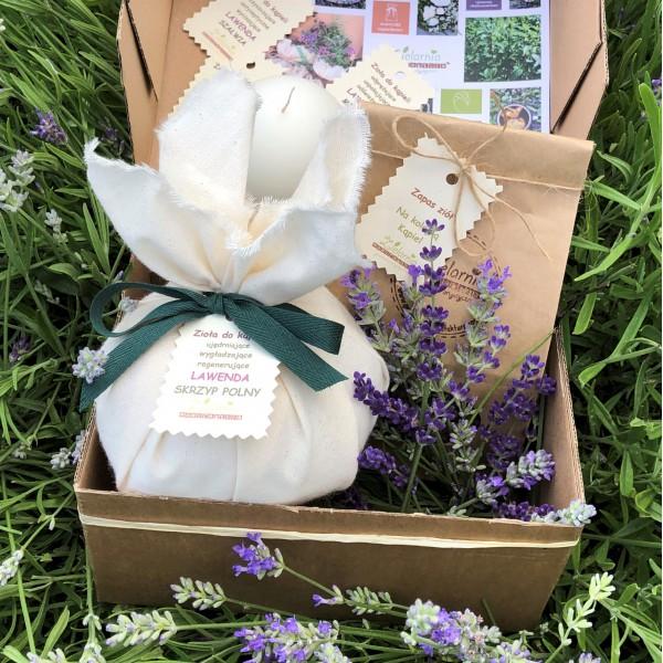 Manufaktura Zielarnia Bath herbs with lavender (set)