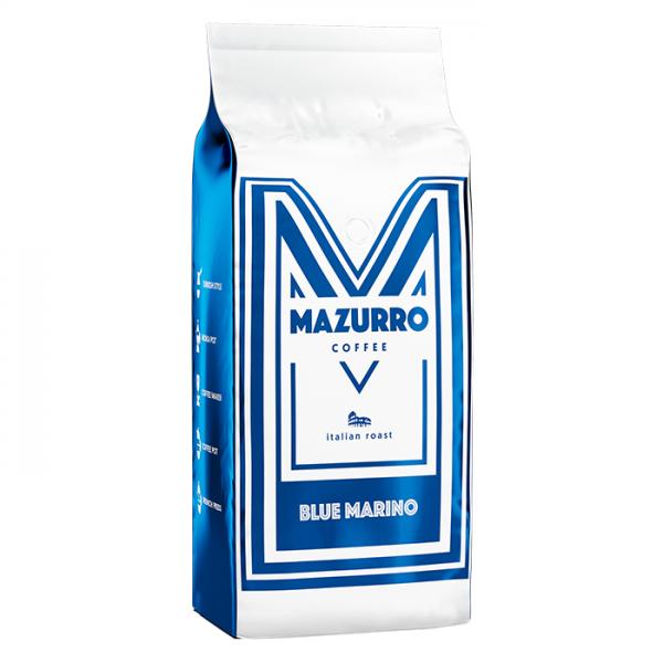 Mazurro Coffee KAWA ZIARNISTA Blue Marino 1000 g