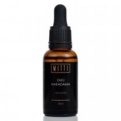 Mitti Olej makadamia organiczny 30ml
