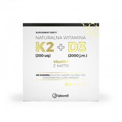 myLaborell WITAMINA K2 200 µg + D3 2000 j.m 90 kaps.