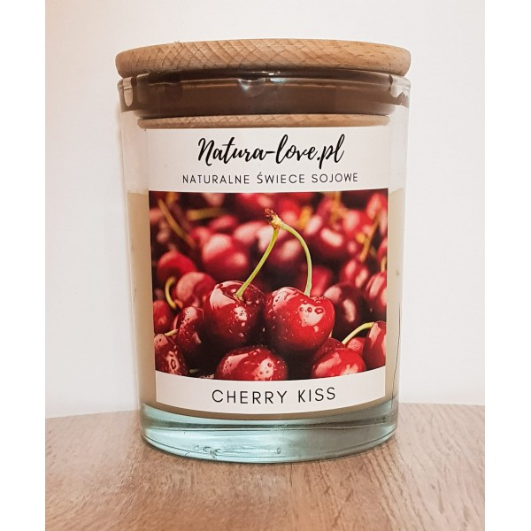 Natura Love Cherry Kiss - Natural Soy Candle 230ml