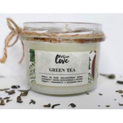 Natura Love Green tea - Świeca sojowa