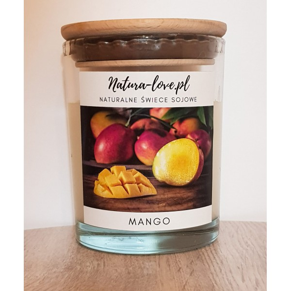 Natura Love Mango - Natural Soy Candle 230ml