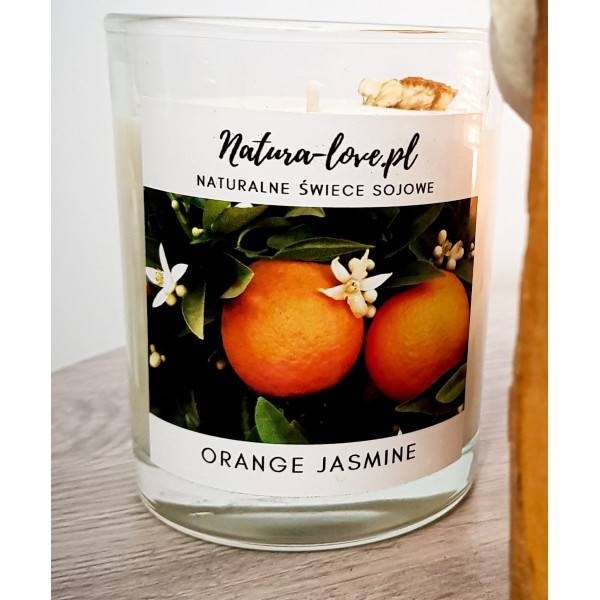 Natura Love Orange Jasmin - Natural Soy Candle 230ml