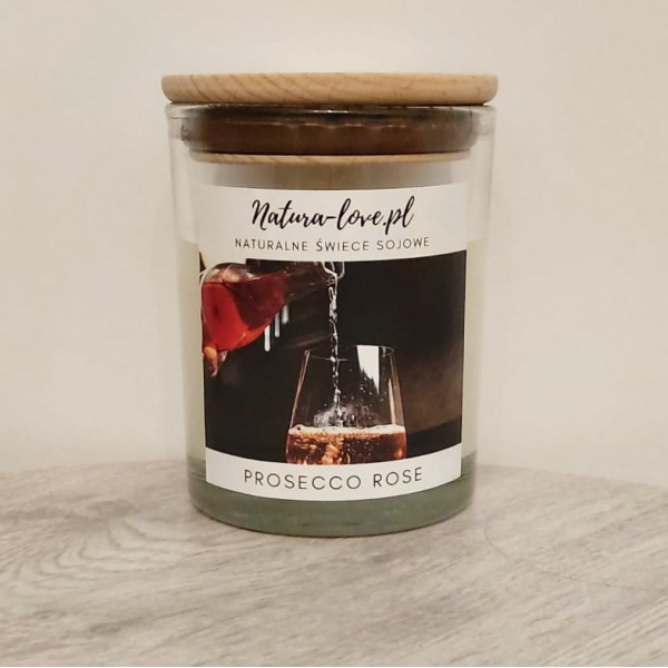 Natura Love Prosecco rose - Natural Soy Candle 230ml
