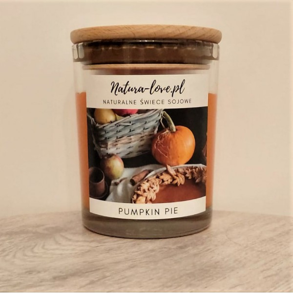 Natura Love Pumpkin pie - Natural Soy Candle 230ml