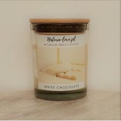 Natura Love White Chocolate - Naturalna Świeca Sojowa 230ml
