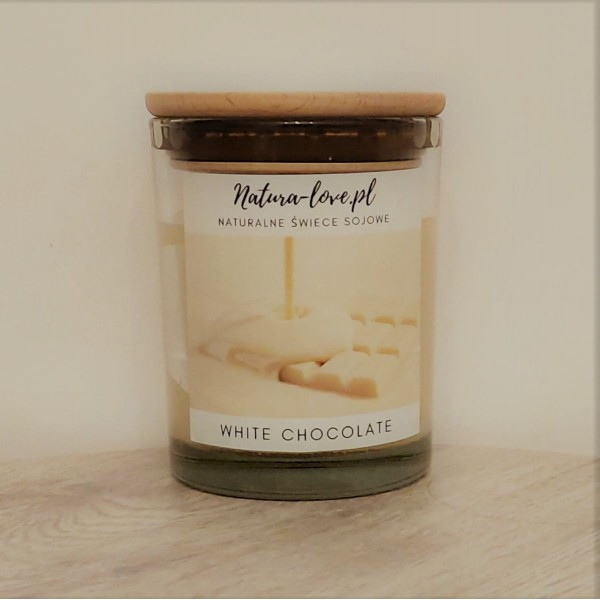 Natura Love White Chocolate - Natural Soy Candle 230ml