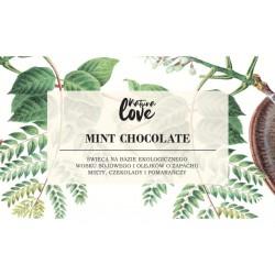 Natura Love Chocolate Mint - Naturalna Świeca Sojowa Zapachowa