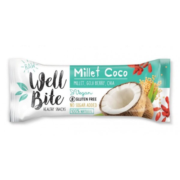 Oho Natura Baton Well Bite Millet Coco 30g