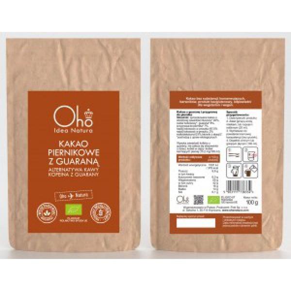Oho Natura Kakao piernikowe z guaraną 100g