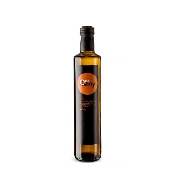 Olej-Istny Olej lniany 500 ml