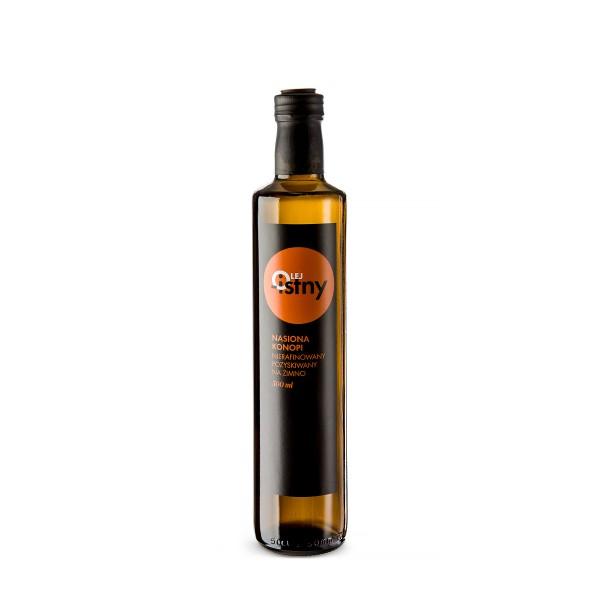 Olej-Istny Olej z nasion konopi 500 ml