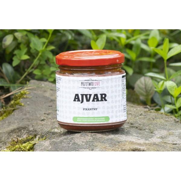 Przetwolove Ajvar spicy (200ml)