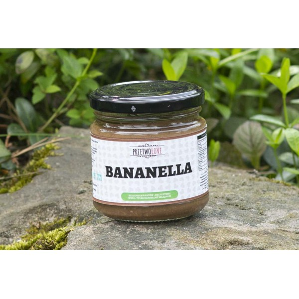 Przetwolove Bananella – bananas with dark chocolate (200ml)