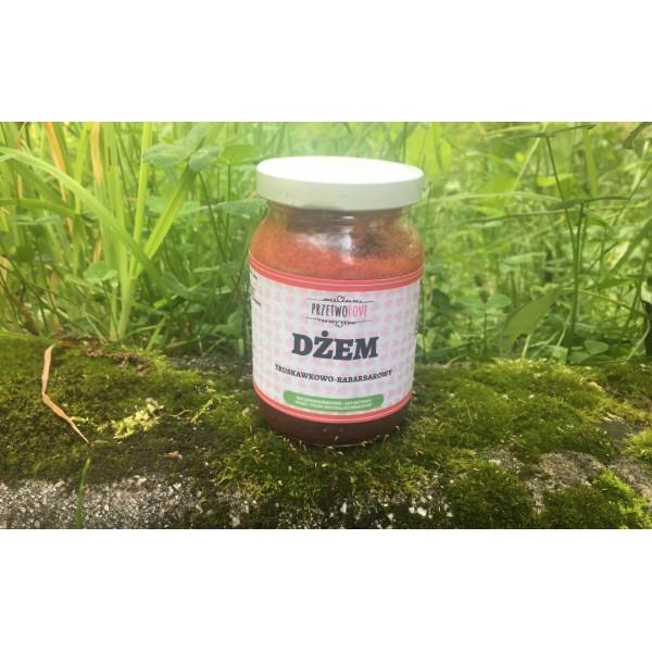 Przetwolove Dżem truskawkowo-rabarbarowy (200ml)