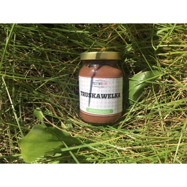 Przetwolove Truskawelka – truskawki z czekoladą 200ml