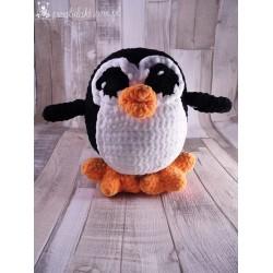 Przytulaki Przytulanka szydełkowa Pingwinek Eryk