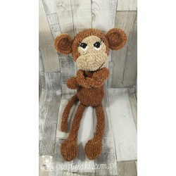 Przytulaki Przytulanka szydełkowa Małpka Marysia