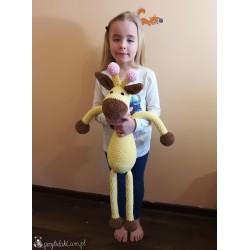 Przytulaki Przytulanka szydełkowa Żyrafa Weronika