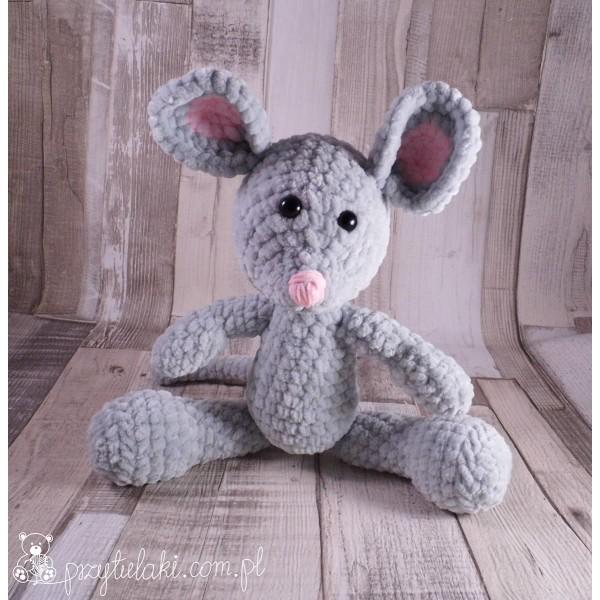 Przytulaki Przytulanka szydełkowa Myszka Miluśka