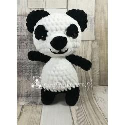 Przytulaki Przytulanka szydełkowa Panda Wanda
