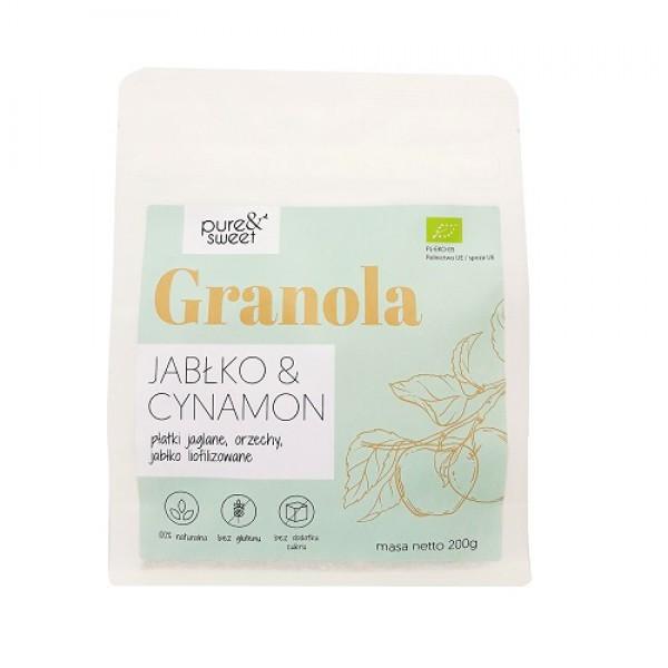 Pure&Sweet BIO Granola Jabłko&Cynamon