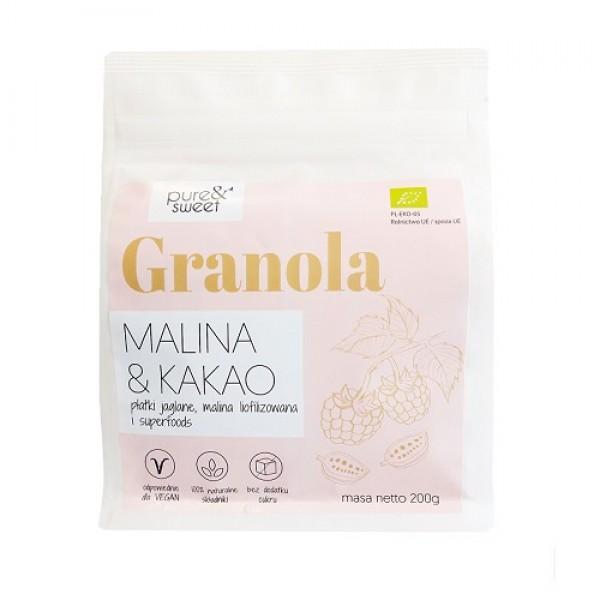Pure&Sweet BIO Granola Malina&Kakao