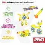 Reko Klocki - system 520 elementów