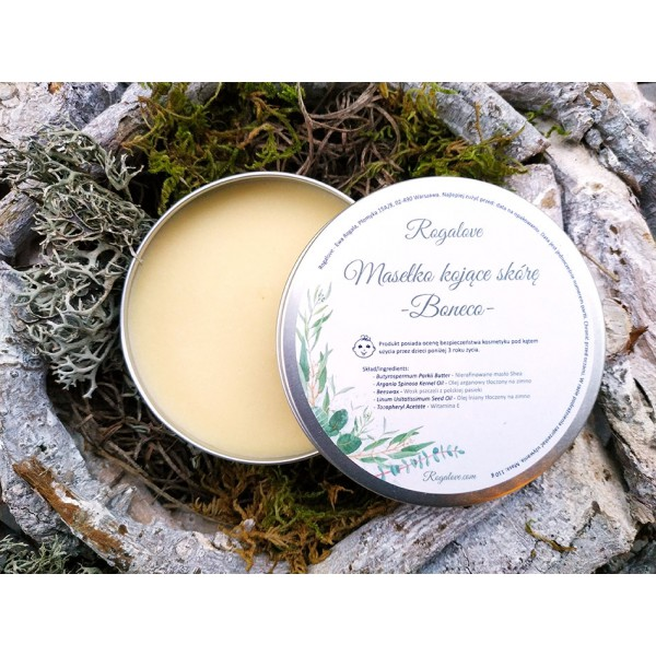 Rogalove Boneco - Masełko kojące skórę, naturalny emolient