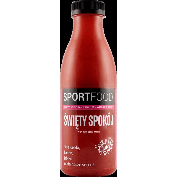 SPORTFOOD Święty Spokój sok owocowy 100% 500 ml