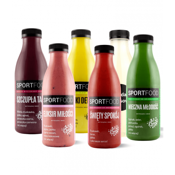 SPORTFOOD 3-DAY BALANCED DIET WITH PROTEINS