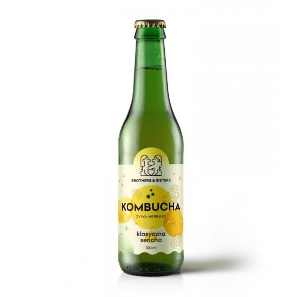SPORTFOOD KOMBUCHA SENCHA CLASSIC 330 ml