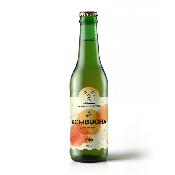 SPORTFOOD KOMBUCHA GINGER 330 ml