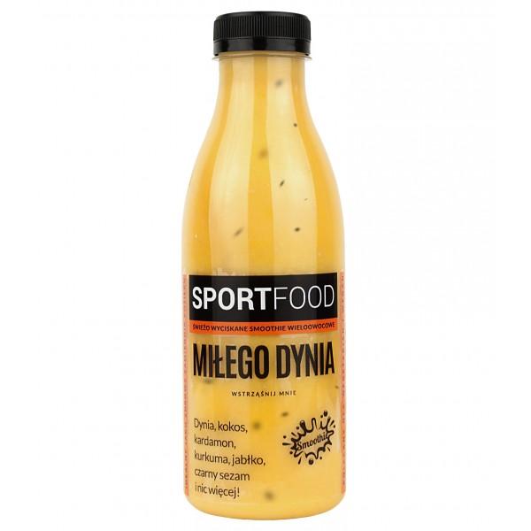 SPORTFOOD NICE PUMPKIN FRUIT JUICE WITH COCONUT MILK 500 ml