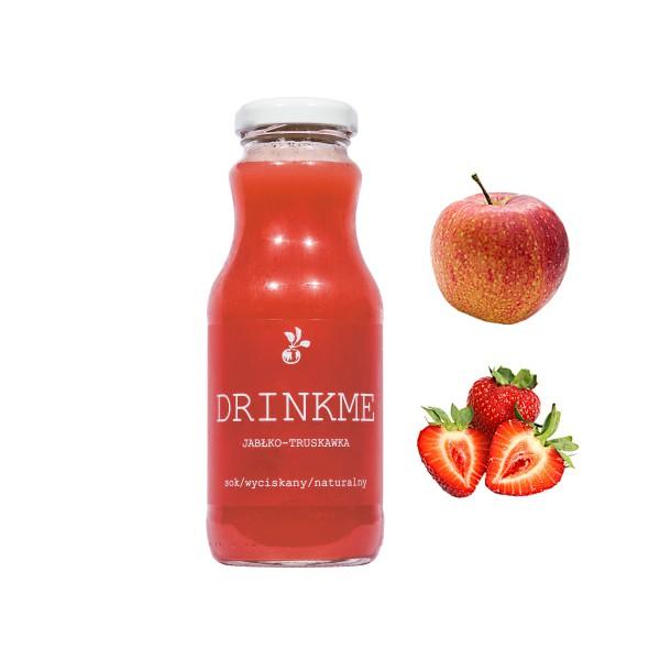 Sadvit Sok jabłko truskawka DRINKME 250ml