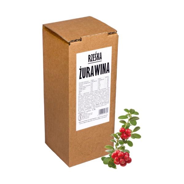 Sadvit Sok z żurawiny Rześka ŻURAWINA 100% 1,5L