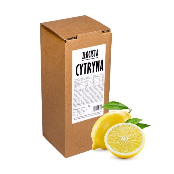 Sadvit Sok z cytryny Złocista Cytryna 100% 1,5L