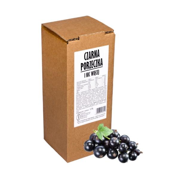 Sadvit Sok z czarnej porzeczki CZARNA PORZECZKA i nic więcej 100% 1,5l