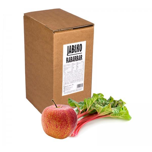 Sadvit Sok jabłko rabarbar 100% 5L